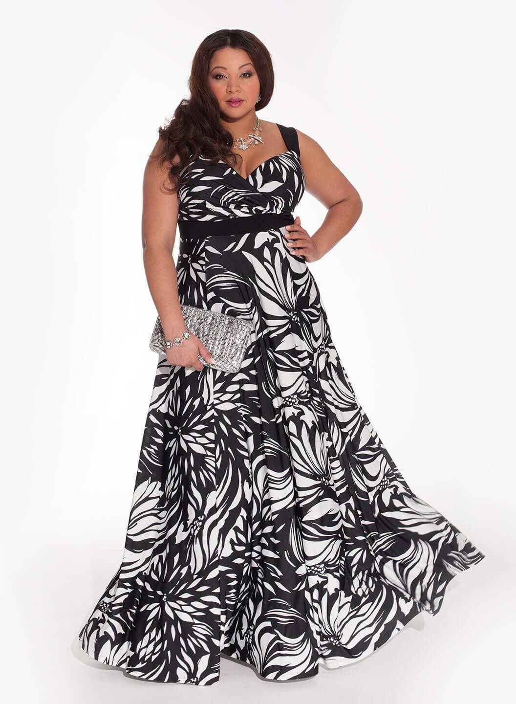 Модное Женская Одежда Очень Большого Размера Картинки