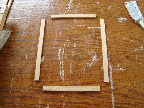 Сделать деревянную рамку для картины своими руками
