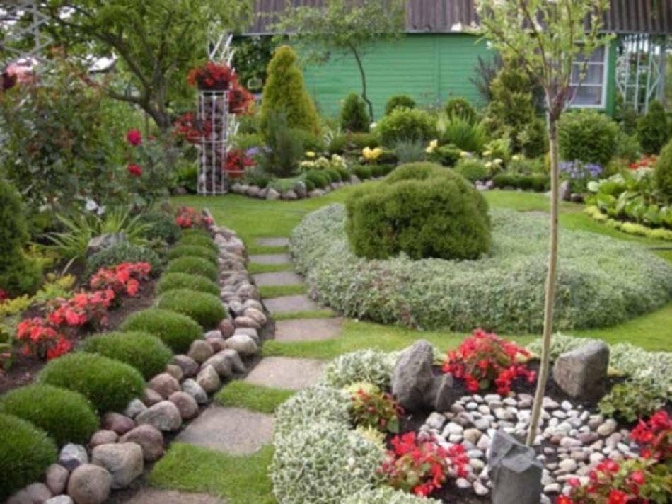 Видео дизайн сада своими руками