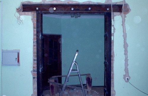 Как из окна сделать дверной проем 530