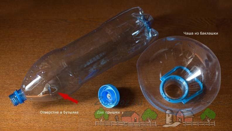 Как сделать поилку из пластиковых бутылок 565