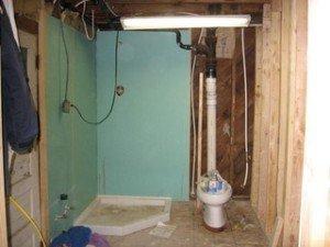 Туалет и ванная в частном доме своими руками 60