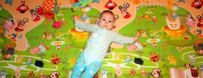 Детский коврик для ползания своими руками фото7