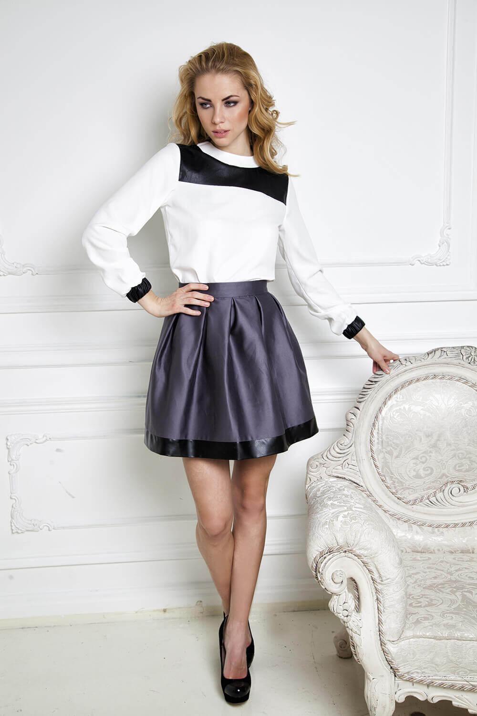 Платье Как Юбка С Блузкой Купить