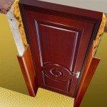 Как сделать обрамление для дверей