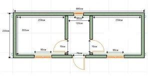 Бытовки чертежи и размеры схемы и проекты эскизы 189