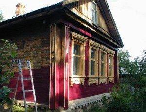 Реставрация деревянного дома - цены в Москве