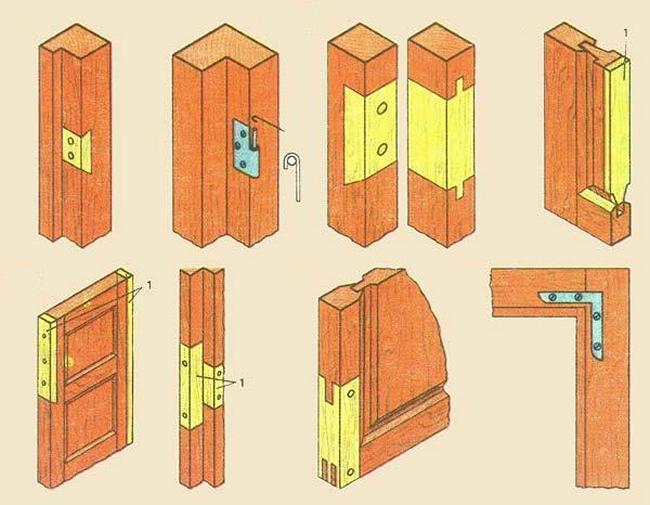 Коробка для двери своими руками из дерева 70
