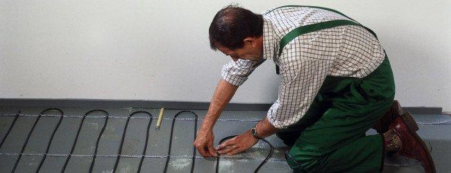Монтаж электрического теплого пола-сделай сам.