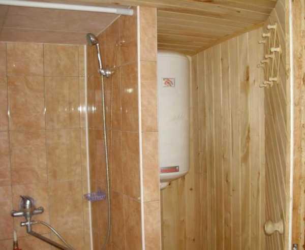 Душевая кабина своими руками в деревянном доме из пвх 49