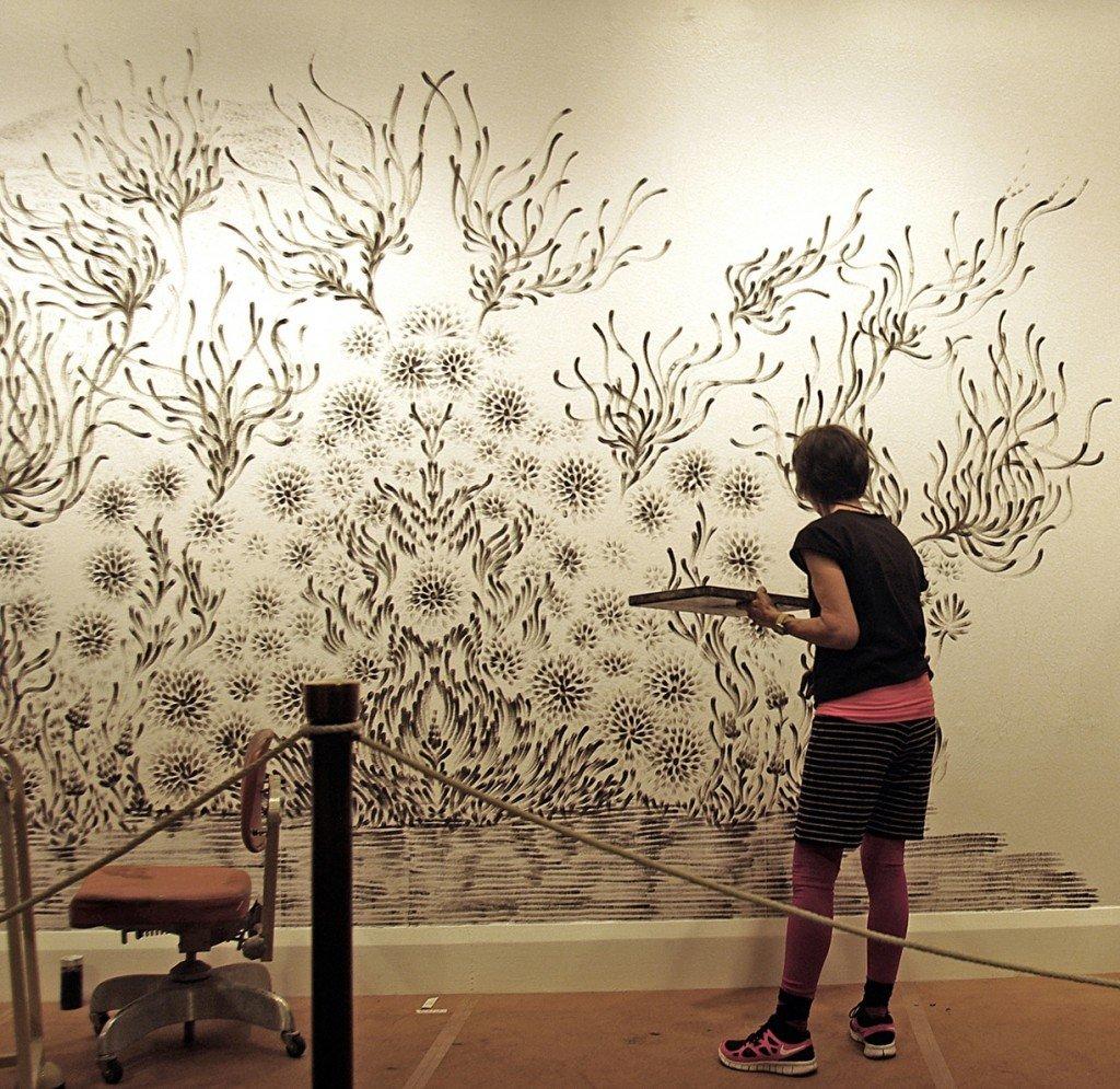 Как сделать рисунки на стене своими руками