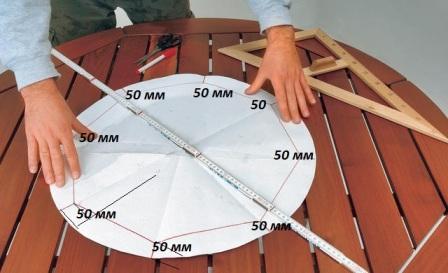 Как сделать самому круглый дом