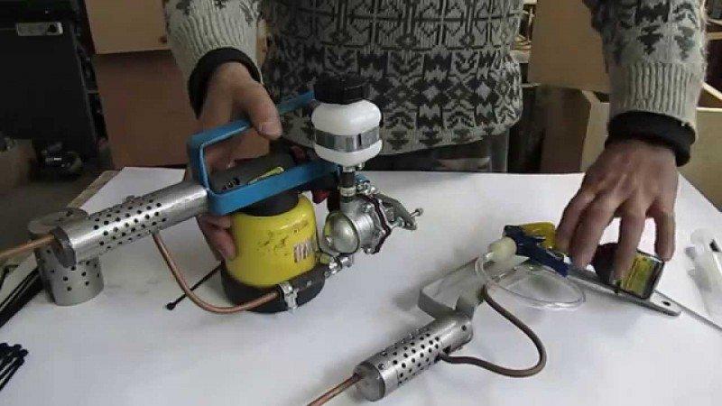Дымовая пушка для обработки пчел