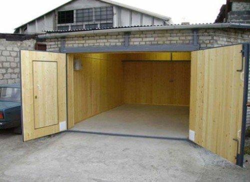 Из чего сделать гараж дешево