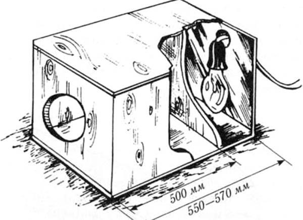 Маточник для кроликов с подогревом своими руками 1110
