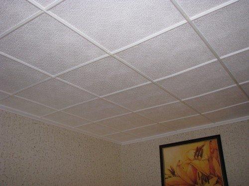 Как сделать дешевый потолок фото