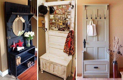 Мебель своими руками для прихожей из старой мебели 124