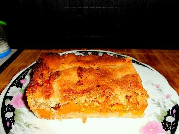 Открытый тыквенный пирог рецепт с фото