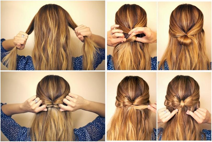 Прически своими руками на длинный волос в домашних условиях 21