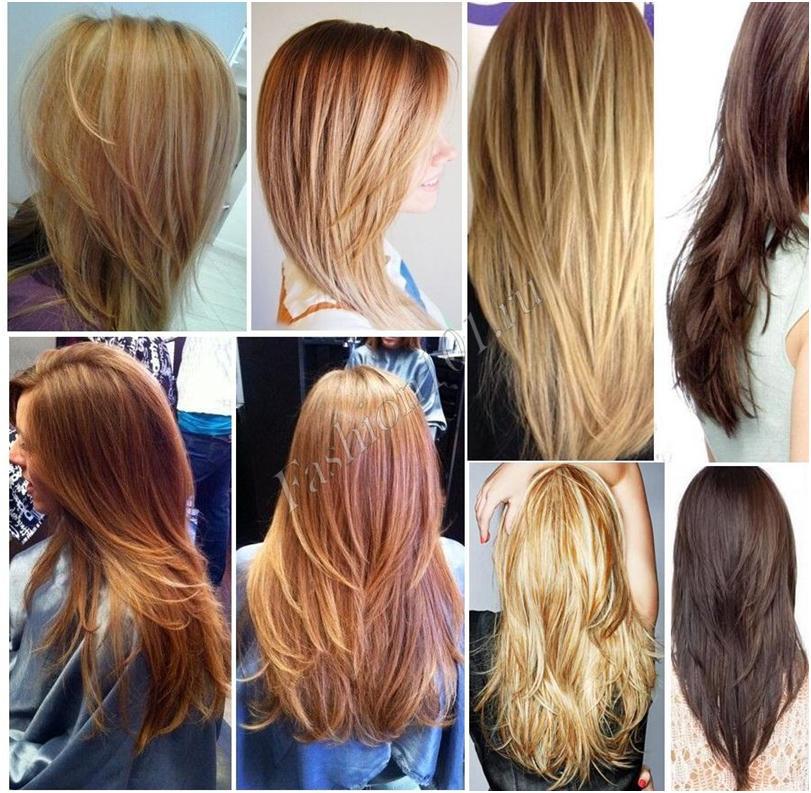 Каскадная стрижка волосы фото