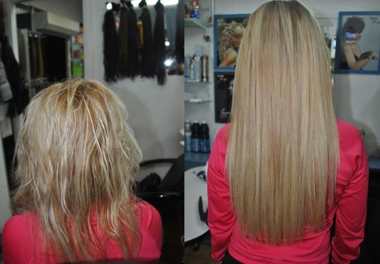 Наращивание натуральных волос отзывы
