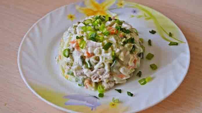 Салат встреча рецепт