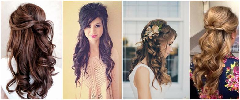 Как сделать прически самой себе на средние волосы на свадьбу к подруге фото
