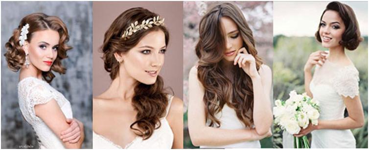 Прическа волны на длинные волосы свадебная прическа