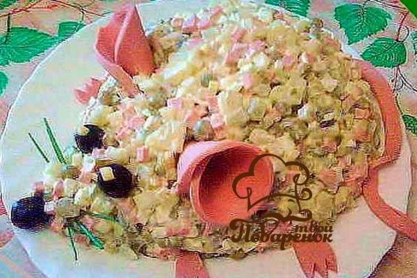Украшение блюд на день рождения ребенку фото