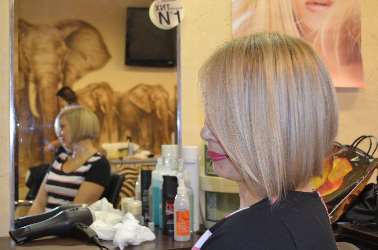 блочное окрашивание волос фото схемы