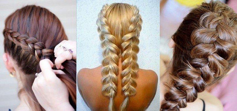 Как сделать коса рыбий хвост фото 944