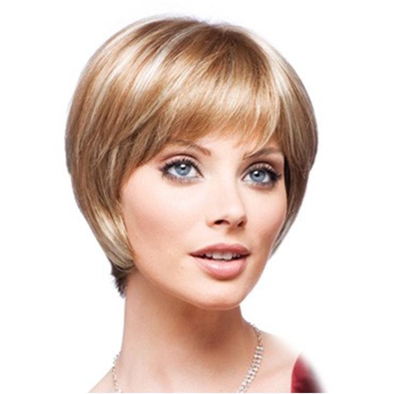 Короткие причёски с чёлкой женские фото