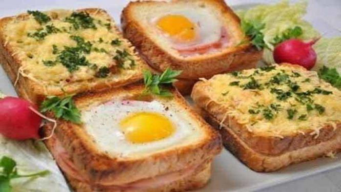 Вкусные быстрые бутерброды фото пошагово