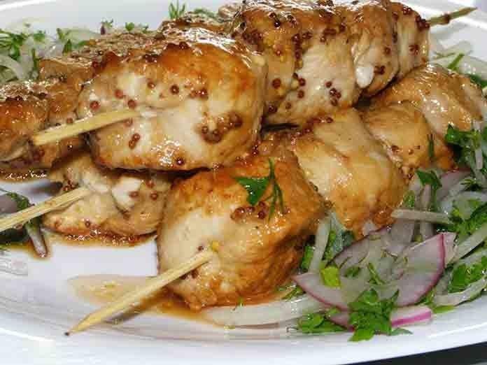Рецепт шашлыка из курицы в духовки