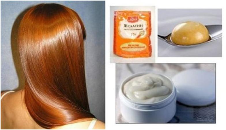 Ламинирование волос в домашних условиях рецепты желатин 33