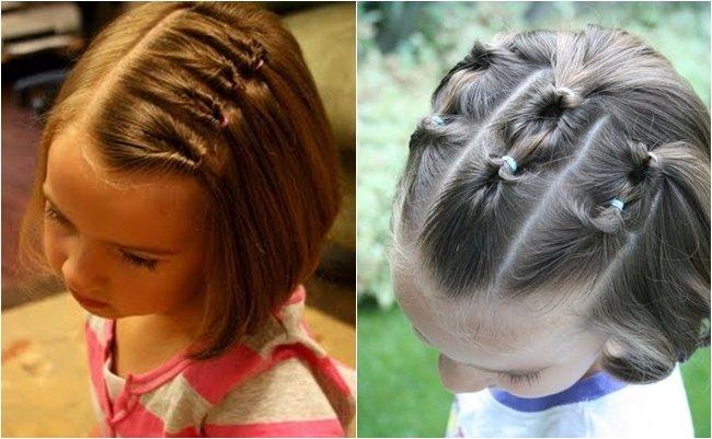 Причёски для детей 3 лет фото на короткие волосы9