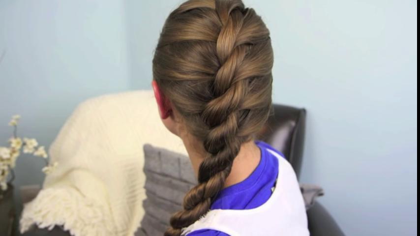 Плетение жгутами на волосах видео