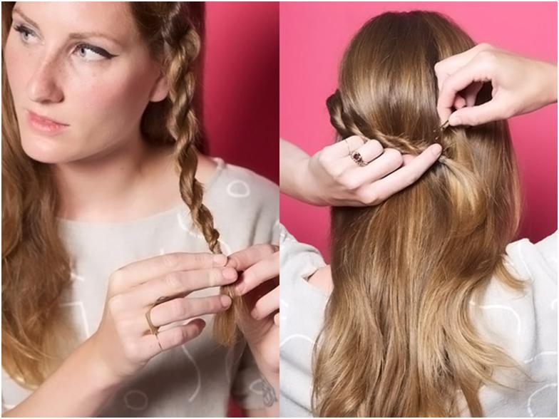 Как сделать волосы жгутами