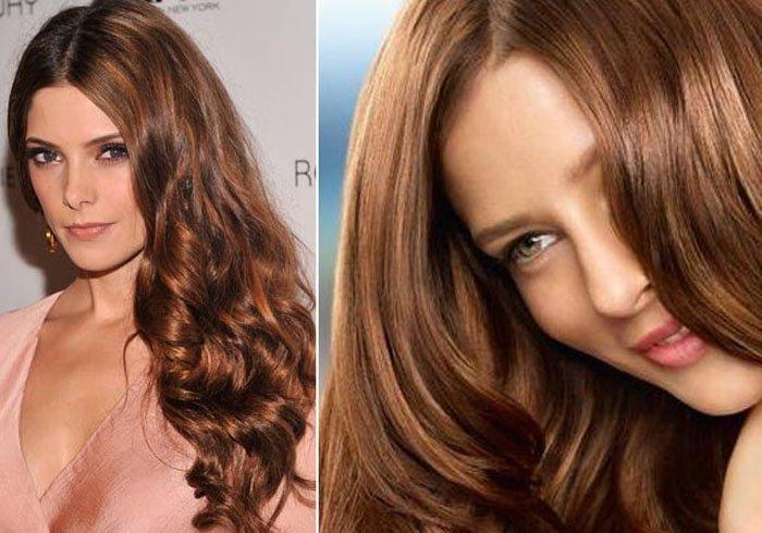 Как сделать волосы цвета карамели если цвет волос темнее