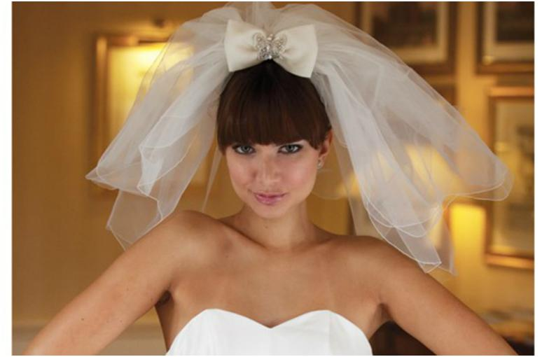 Фата прическа свадьба в