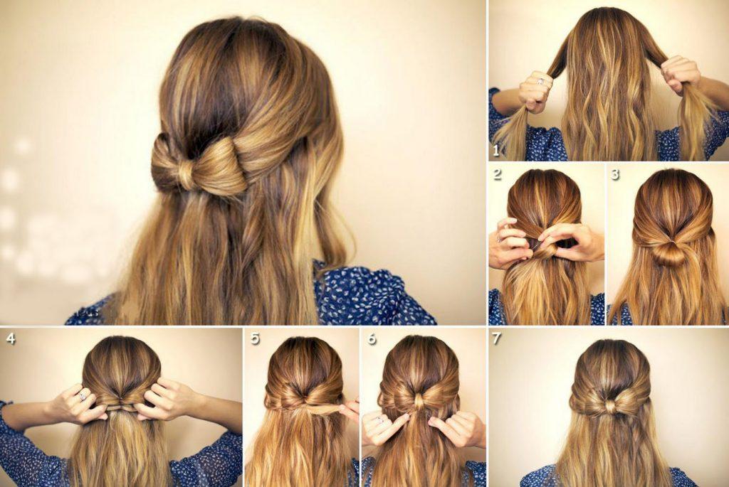 Как можно сделать волосы распущенные волосы