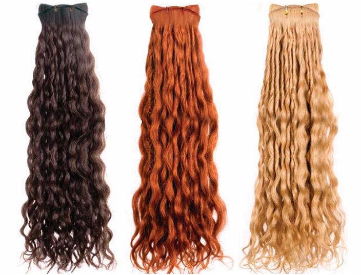 Сколько стоят пряди волос на заколках