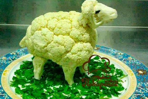 Украшения для салатов своими руками фото пошагово в