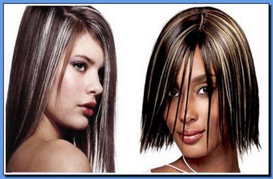 Как сделать мелирование на темные волосы в домашних