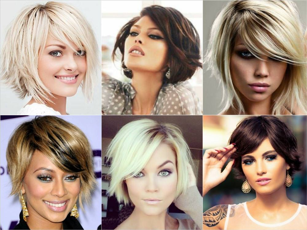 Модные стрижки 2017 на средние волосы женские за 30 без челки