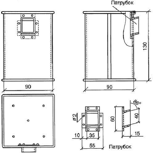 Коптильный шкаф для горячего копчения своими руками 78