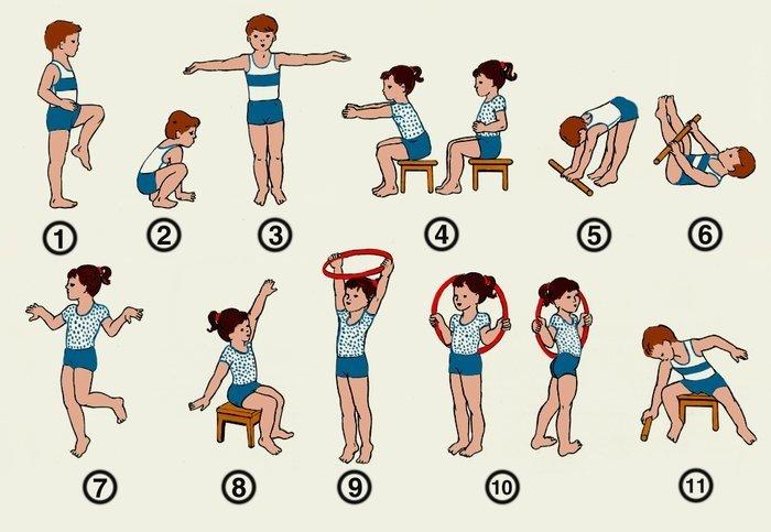 Как сделать физическое упражнение