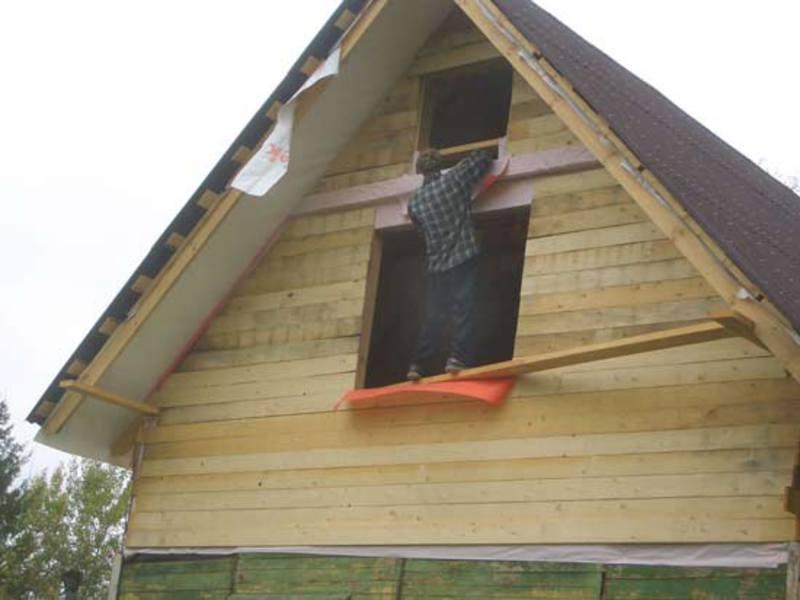 Как сделать торцы на крыше