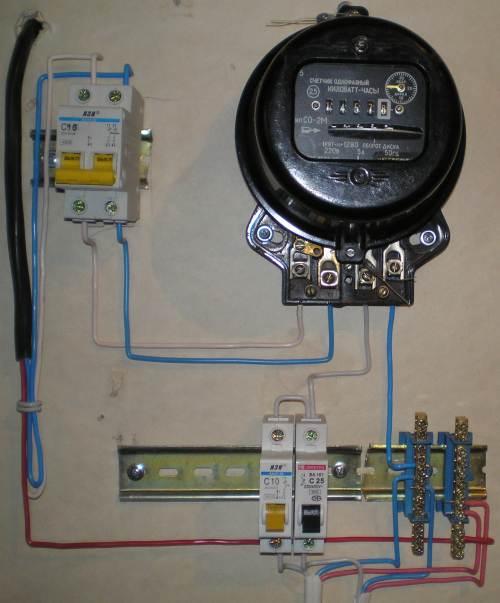 Как сделать счетчик провода 68