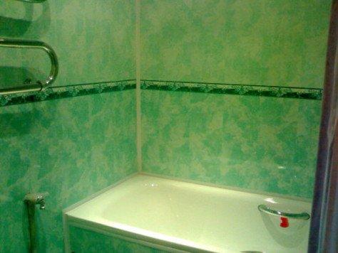 Фото пвх панелей в ванной своими руками